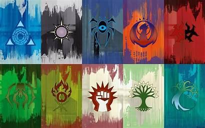 Mtg Ravnica Guilds Magic Gathering Fantasy Symbols