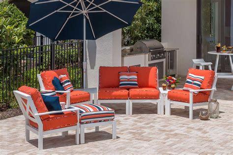windward patio furniture windward design sanibel sectional collection