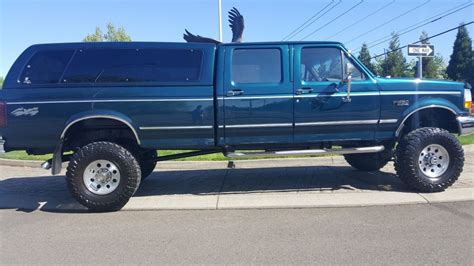 1997 FORD F 350 XLT Crew Cab Long Bed 7.5L for sale