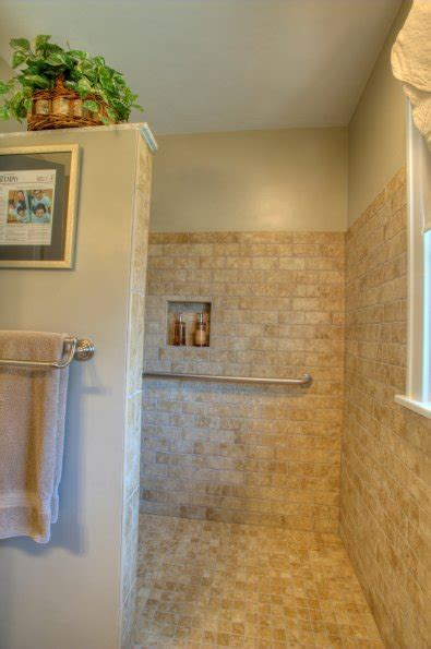 open shower stall had one had a door less shower and loved it great design idea for the home pinterest