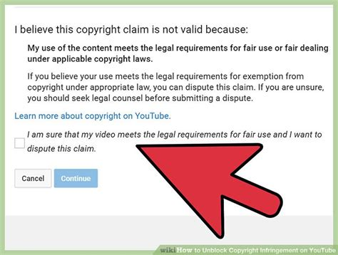 How To Unblock Copyright Infringement On Youtube (with