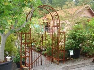 Arche De Jardin En Fer Forgé : emejing portillon jardin fer forge gallery amazing house ~ Premium-room.com Idées de Décoration