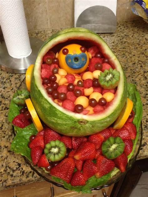 Baby Shower Fruit Platter Ideas