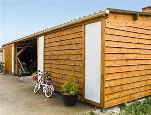 construire soi meme un atelier a ossature bois With fabriquer son garage en bois