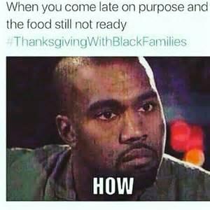 Growing Up Black Thanksgiving Memes