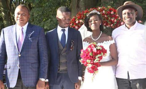Kiraitu Murungi's Daughter Weds In Glam Wedding Attended