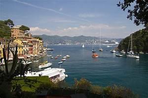 Portofino In The Italian Riviera In Liguria Italy