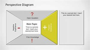 Perspective Diagram Powerpoint Teamplate