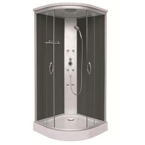 montaggio cabina doccia idromassaggio cabina 90x90x210 con colonna centrale a 6 getti idromassaggio