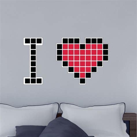 sticker chambre stickers muraux pour chambre sticker mural coeur