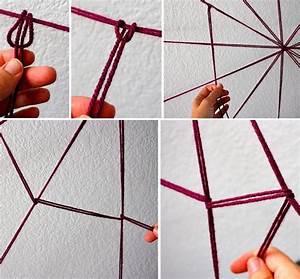 Wanddeko Selber Machen : diy spinnengewebe als coole halloween deko idee freshouse ~ Eleganceandgraceweddings.com Haus und Dekorationen