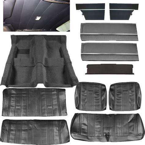 chevy ii nova interior kit bench seat  door sedan