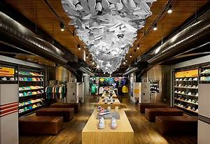 niketown nyc 5th floor gets sportswear treatment With flooring stores nyc
