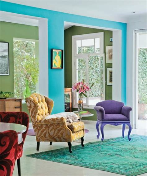 Bright Room Colors And Home Decorating Ideas From Designer