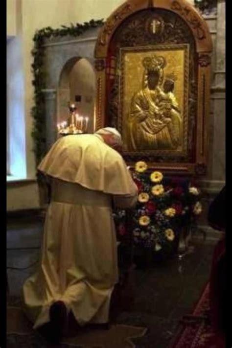 popes pray  black madonna ear kandy radio