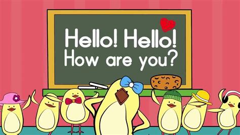 Hello Song For Kids Greeting Song For Kids The Singing