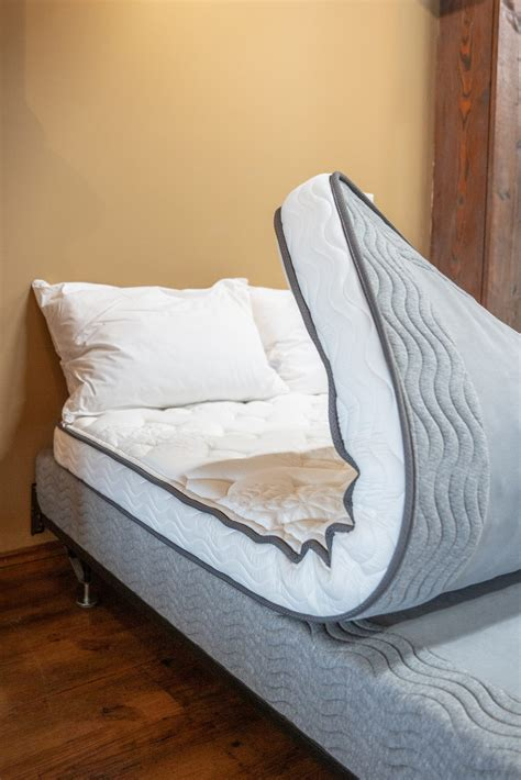 pocket coil hide  bed replacement mattress majestic