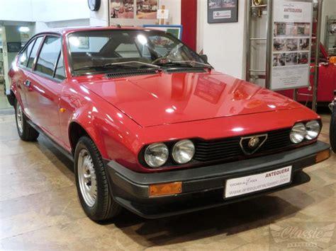 Alfa Romeo Classic by Alfa Romeo Alfetta Gtv 2 0 L Classic Racing Annonces