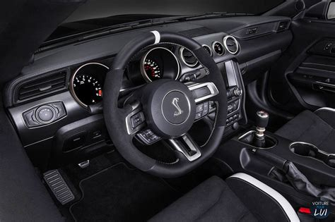 mustang shelby gt 500 interieur photos ford mustang shelby gt350r 2016 numero 15