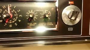 220 Keele Unit  1 Oven Timer Instructions