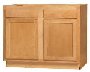 kitchen kompact mellowood 42rbs maple sink base cabinet at