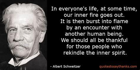 Albert Schweitzer Quotes Albert Schweitzer On Gratitude Quotes Quotesgram