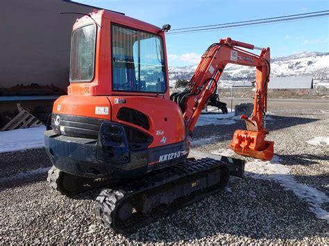 kubota kx  mini excavator  sale  hours chase bc