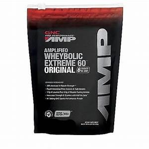 Gnc Pro Performance Amp Amplified Wheybolic Extreme 60 Powder Cookies And Cream U2026