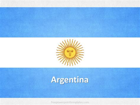 argentina powerpoint template