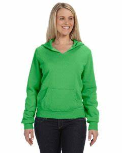 fort Colors La s Garment Dyed Pullover Hoo