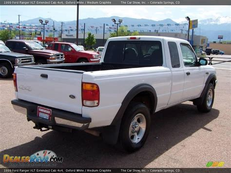 1999 ford ranger xlt extended cab 4x4 oxford white medium graphite photo 3 dealerrevs