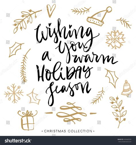 Wishing You A Warm Holiday Season Christmas Greeting Card