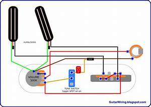 3 Wire Humbucker Wiring Diagram