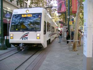 light rail san jose vta light rail transit wiki