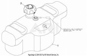 Troy Bilt 17arcacq011 Mustang Xp 50  2017  Parts Diagram