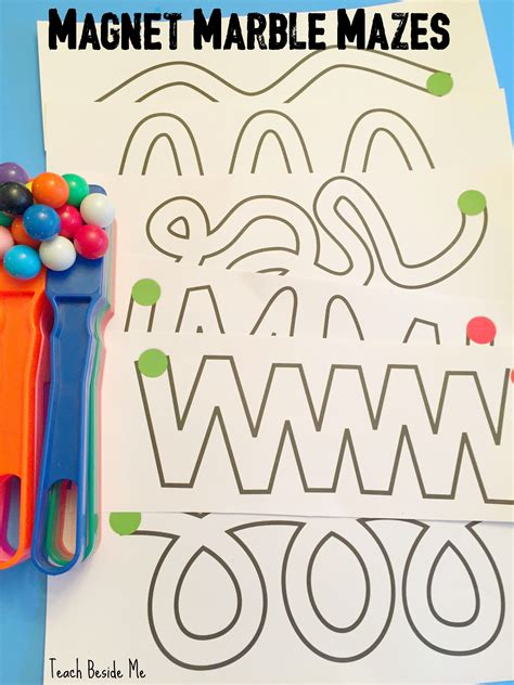 magnetic color maze magnetic marble mazes to print play marble maze stem