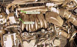 Replacing Pcv Valve On 2003 Ford Taurus Engine Diagram Of