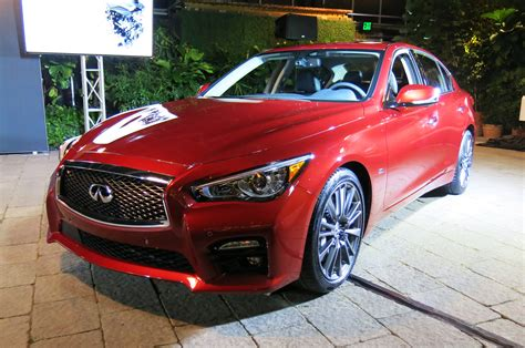 2016 Infiniti Q50 Gains New 3.0l Twin-turbo V-6 With 400 Hp