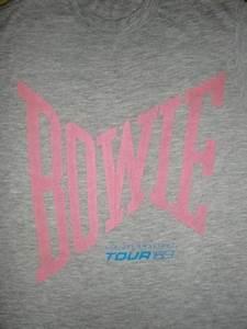 David Bowie Serious Moonlight 1983 Tour T