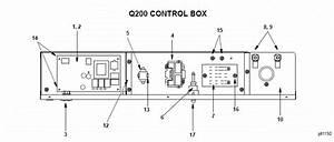 Manitowoc Q200 Series Ice Machine Parts Diagram