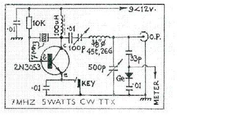 Radio Circuits Blog Mhz Watts Qrp Transmitter