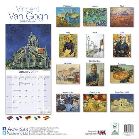 van gogh calendars ukposterseuroposters