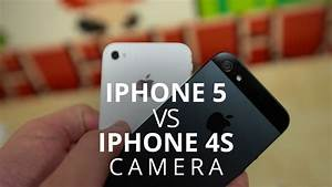 iPhone 5 vs. iPhone 4S - Camera - YouTube