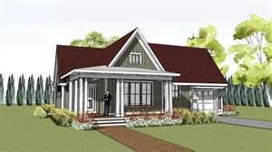 Wrap Around House Plans by Simple Yet Unique Cottage House Plan With Wrap Around