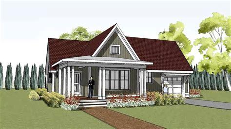 simple  unique cottage house plan  wrap  porch hudson cottage youtube