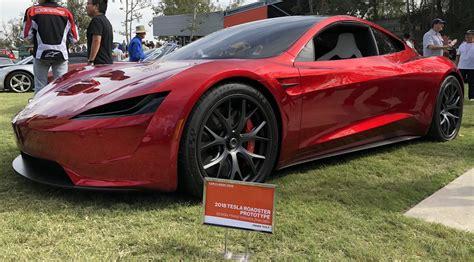 Tesla's next-gen Roadster stuns crowd at famed ArtCenter ...