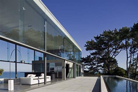 maison en verre de design moderne 30 exemples venant des architectes
