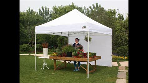 set  eurmax  instant pop  canopy tent  enclosure wall youtube