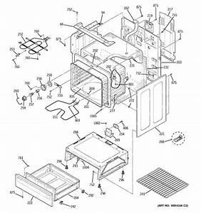Ge Model Jbs55dm2bb Free Standing  Electric Genuine Parts