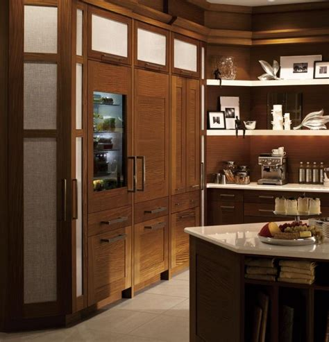 ge monogram refrigerator drawers fully varnished great wooden refrigerator great moulded